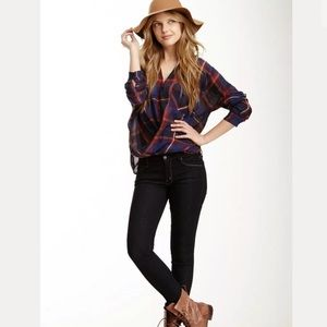 NEW MOTHER The Looker Skinny Jeans Dark 30